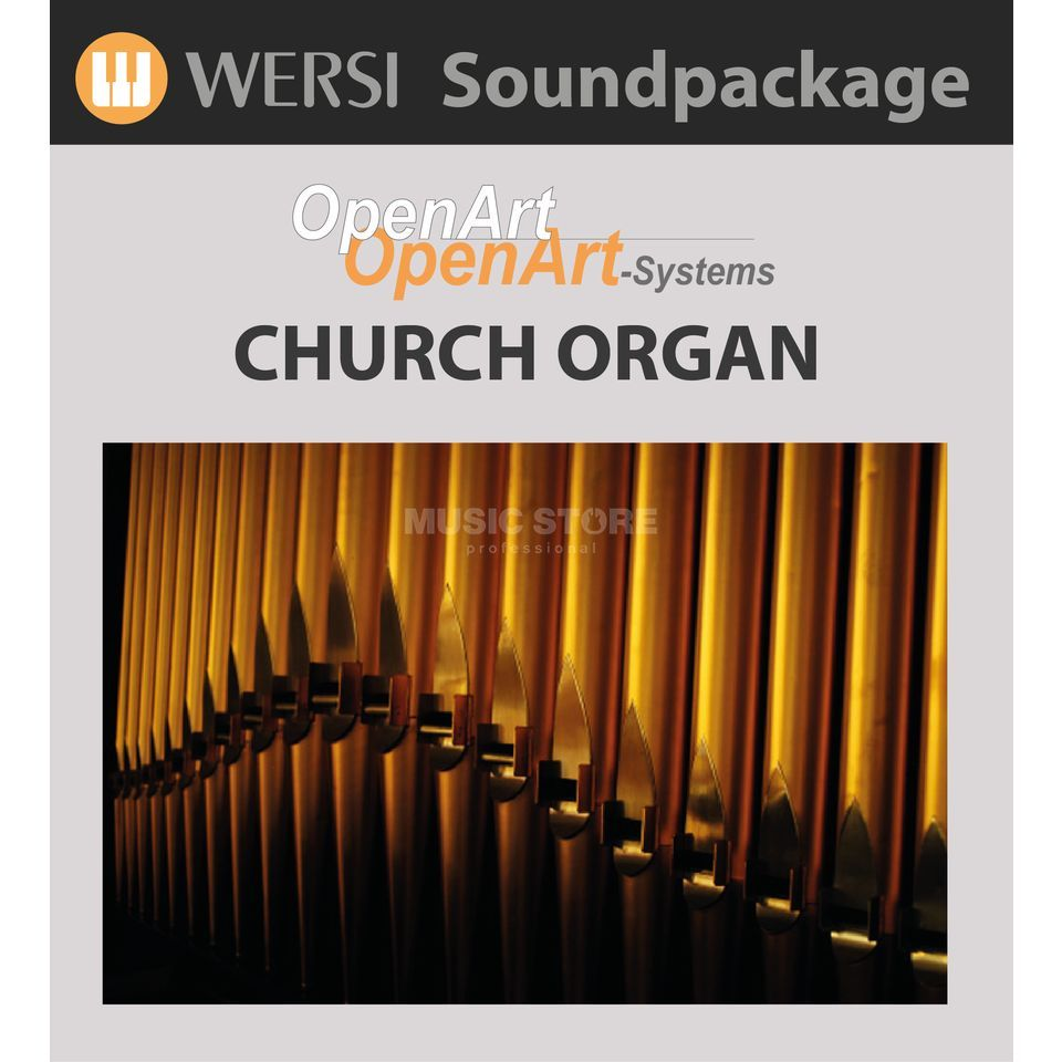 Wersi Sakral Sounds (4003040) Soundpackage for OAS Produktbillede