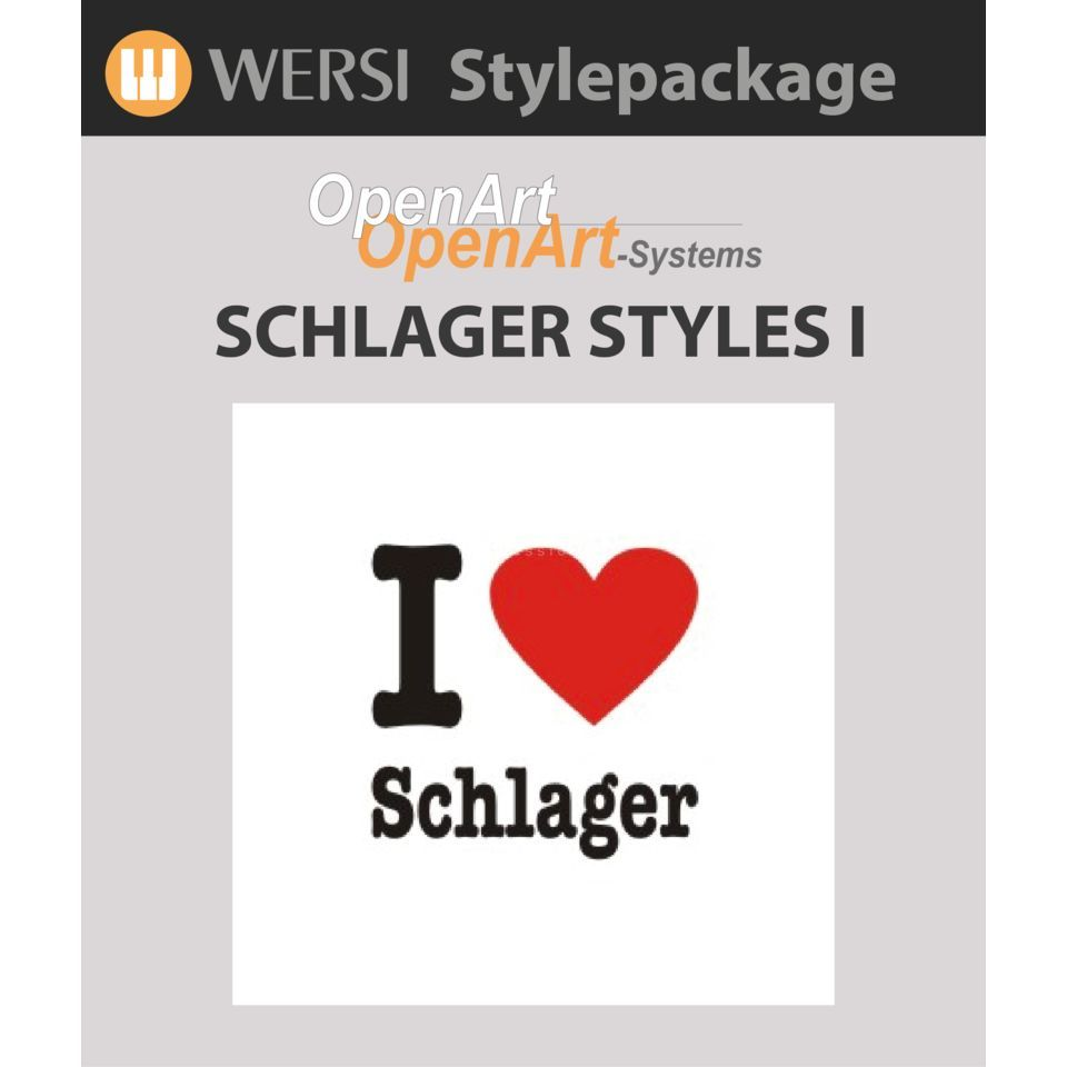 Wersi Schlager Style pack 1 Sound Package OAS Produktbillede