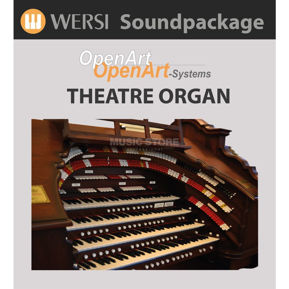 Wersi Theatre Sounds (4003050) Soundpackage for OAS Produktbillede