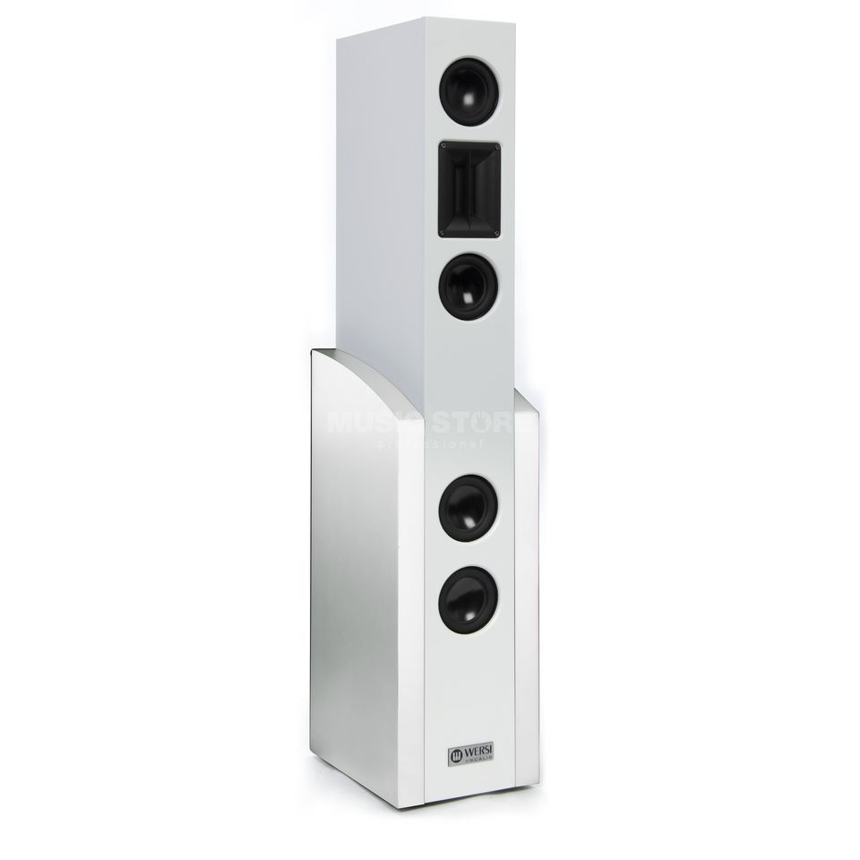 Wersi Vocalis 120 High Definition Active Speaker - Pearl White Produktbillede