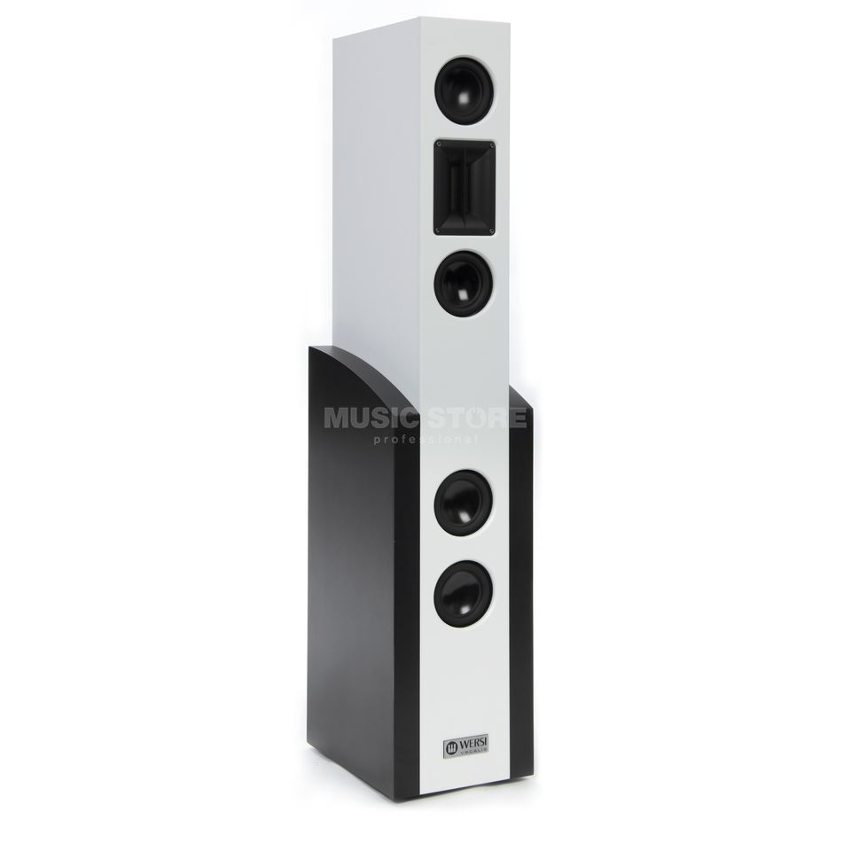 Wersi Vocalis 120 White High Definition Active Speaker Produktbild