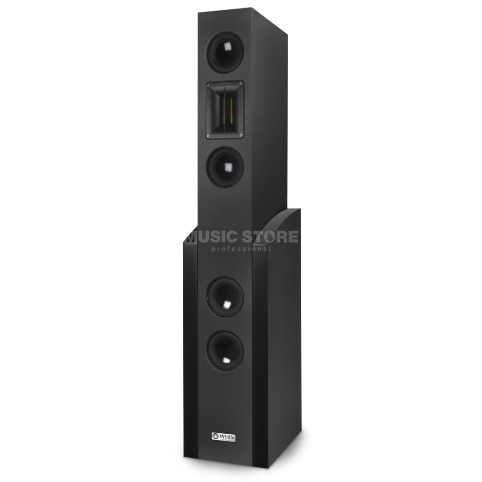 "Wersi ""Vocalis Black Active Speakers Black Produktbillede"