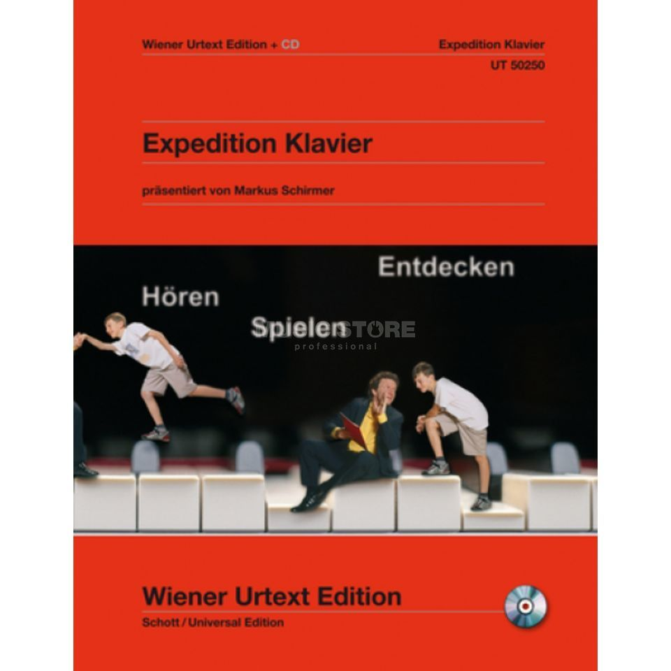 Wiener Urtext Expedition Klavier Urtext Album mit CD Produktbillede