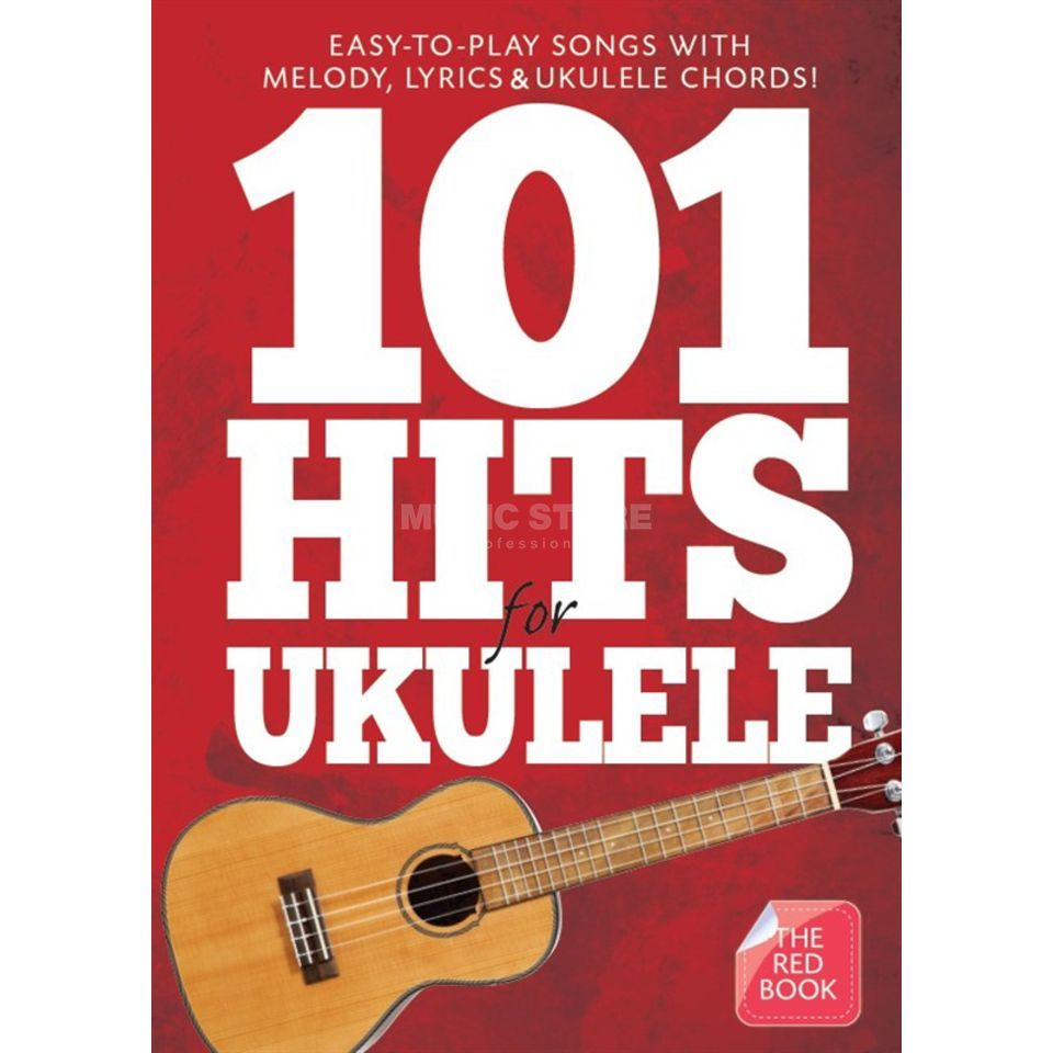 Wise Publications 101 Hits For Ukulele - The Red Book Produktbild