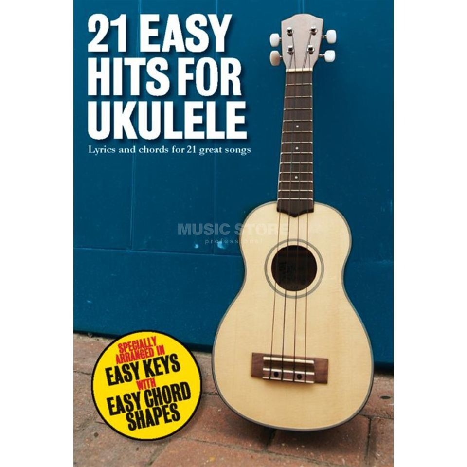 Wise Publications 21 Easy Hits For Ukulele  Produktbild