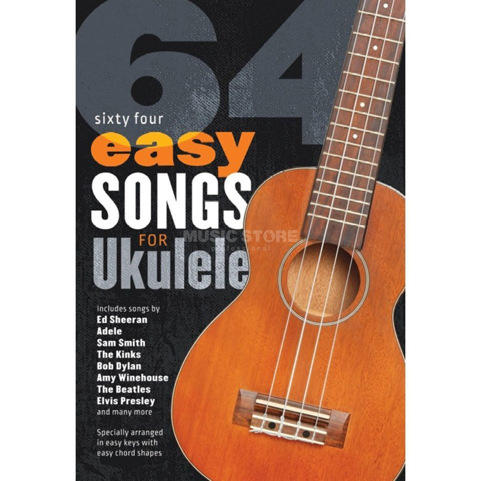 Wise Publications 64 Easy Songs For Ukulele Produktbillede