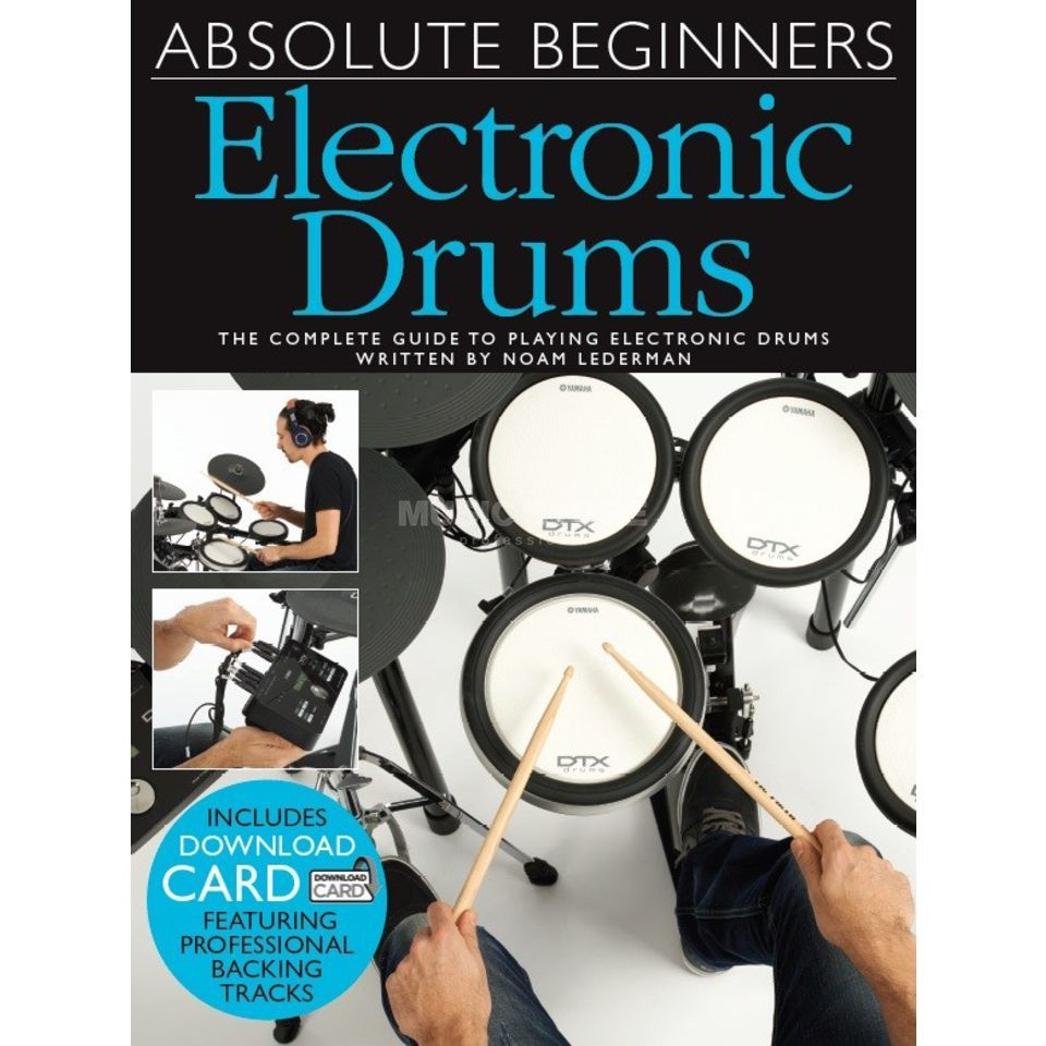 Wise Publications Absolute Beginners: Electronic Drums Produktbillede