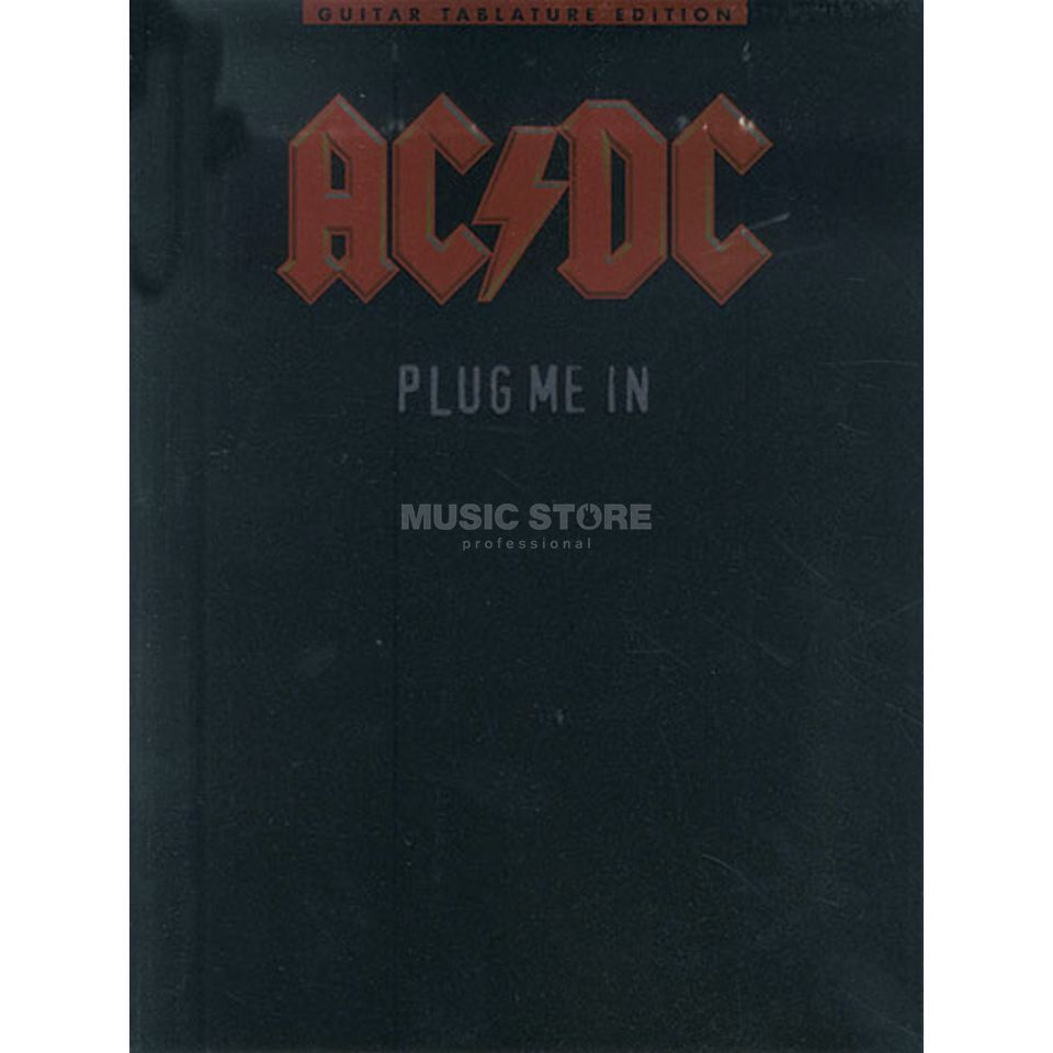 Wise Publications AC/DC - Plug Me In TAB Produktbild