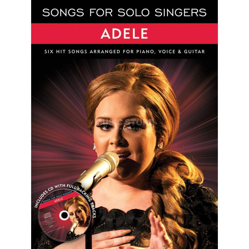 Wise Publications Adele: Songs for Solo Singers PVG inkl. CD Produktbild