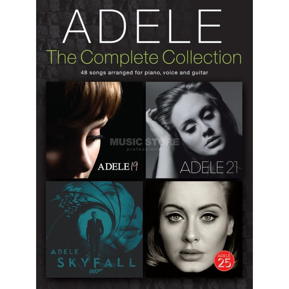 Wise Publications Adele: The Complete Collection Product Image