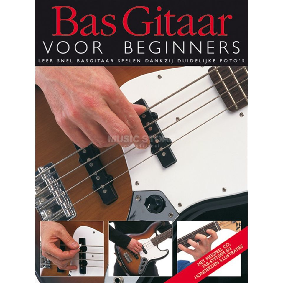 Wise Publications Bas Gitaar Voor Beginners Boek/CD Produktbild