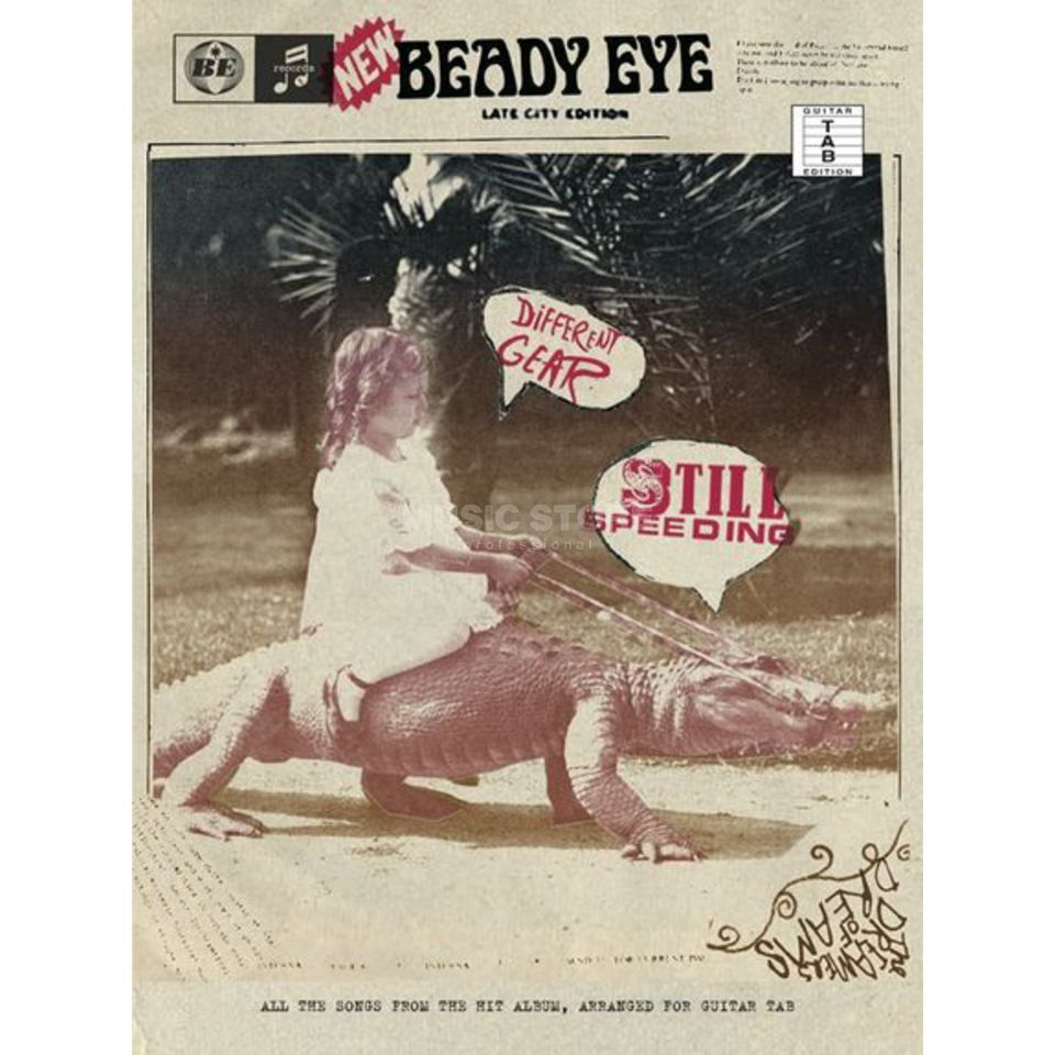 Wise Publications Beady Eye - Different Gear, Still Speeding, TAB Produktbild