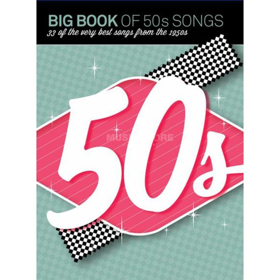 Wise Publications Big Book Of 50s Songs PVG Produktbild