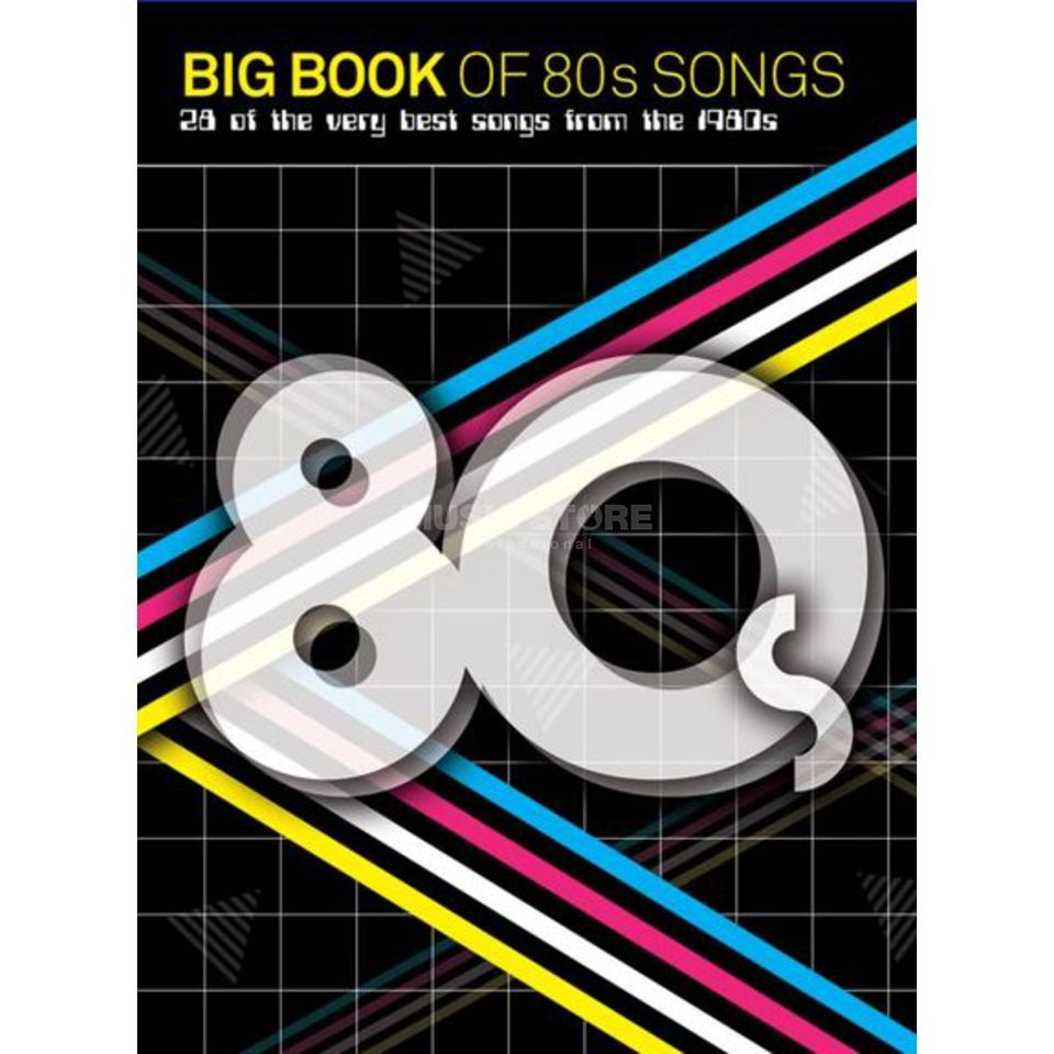 Wise Publications Big Book Of 80s Songs PVG Productafbeelding