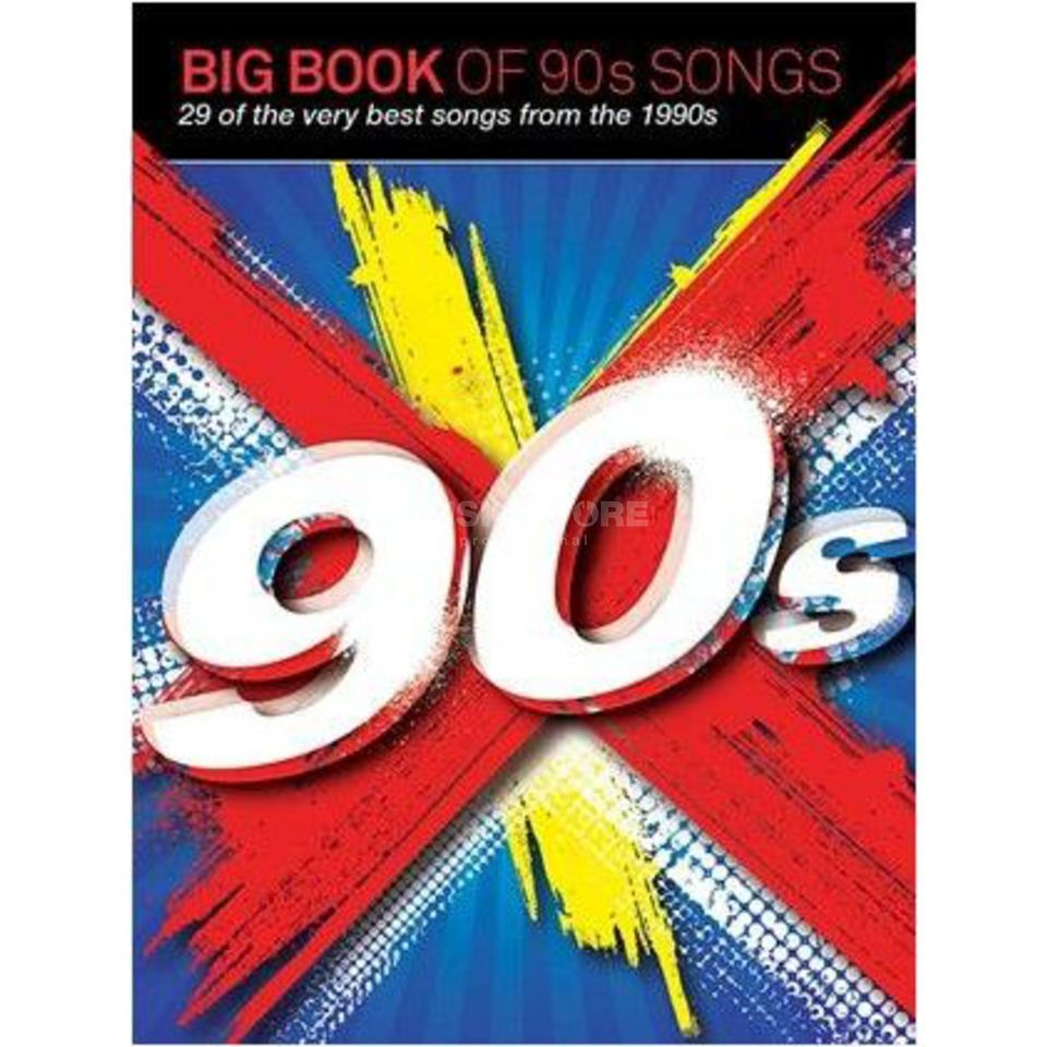 Wise Publications Big Book Of 90s Songs PVG Produktbild