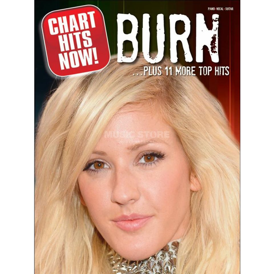 Wise Publications Chart Hits Now! Burn ...Plus 11 More Top Hits Produktbild