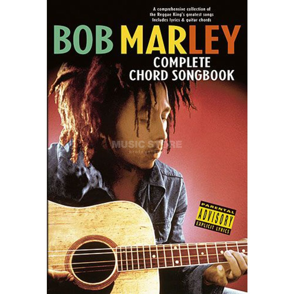 Wise Publications Chord Songbook Bob Marley Lyrics Chords