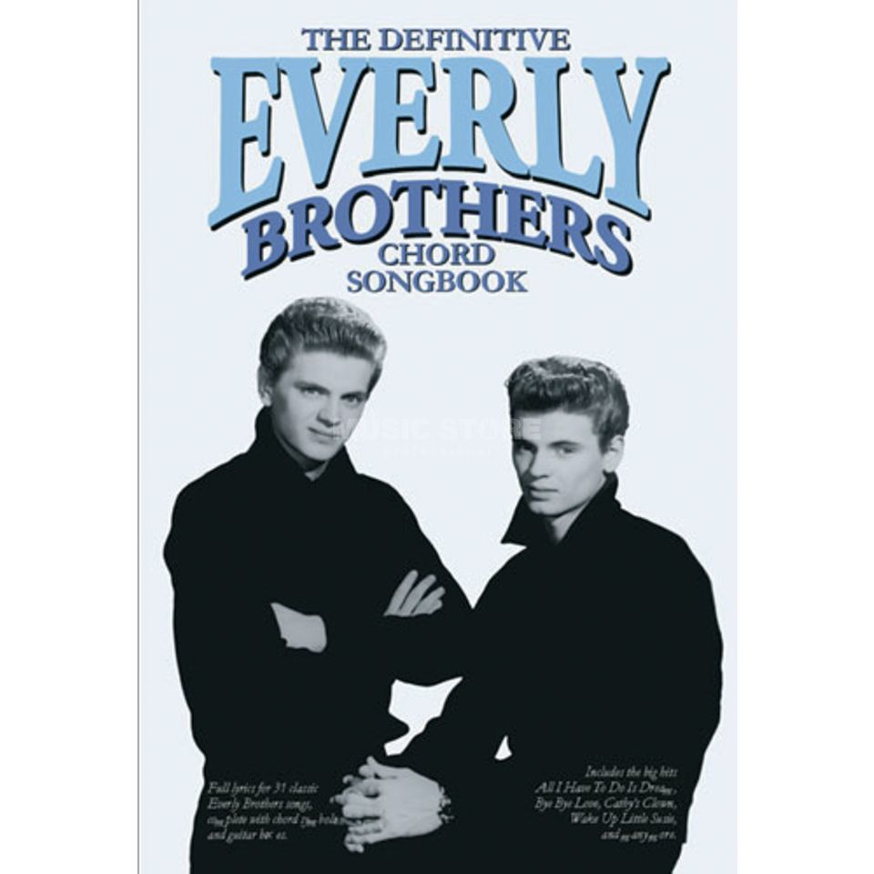 Wise Publications Chord Songbook: The Everly Brothers Lyrics & Chords Produktbild