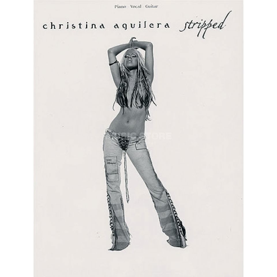 Wise Publications Christina Aguilera: Stripped PVG Produktbild