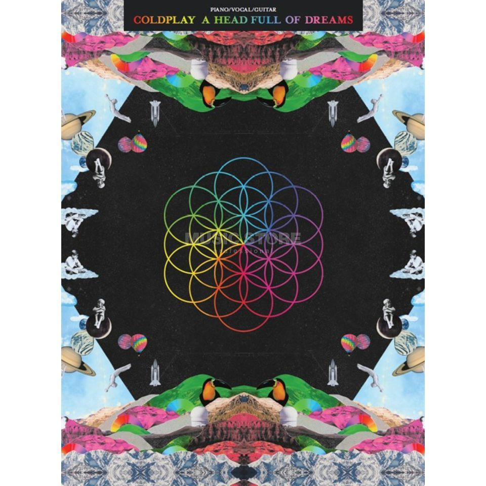 Wise Publications Coldplay: A Head Full Of Dreams Produktbillede