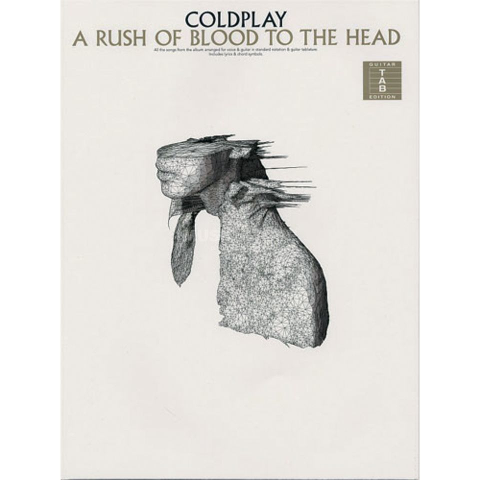 Wise Publications Coldplay: A Rush Of Blood To The Head TAB Produktbild