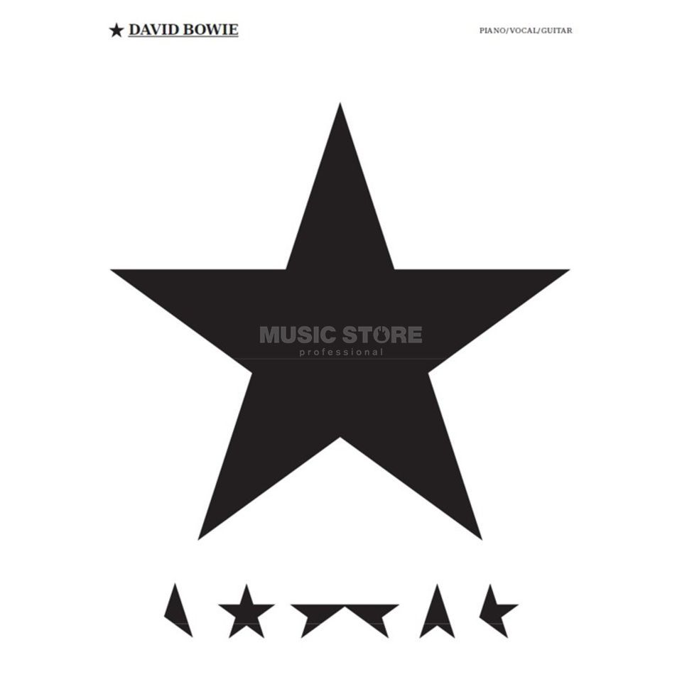 Wise Publications David Bowie: Blackstar Produktbild