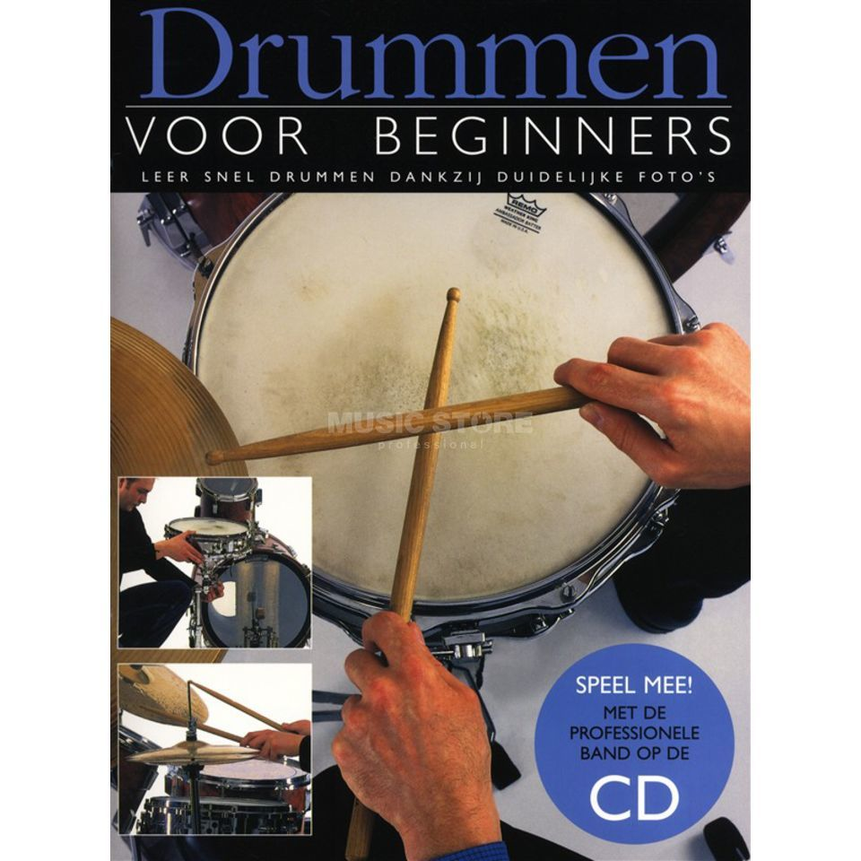 Wise Publications Drummen Voor Beginners Boek/CD Produktbild