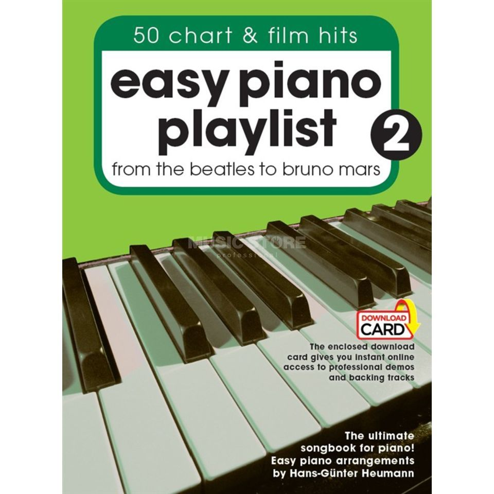 Wise Publications Easy Piano Playlist: Volume 2 Produktbillede