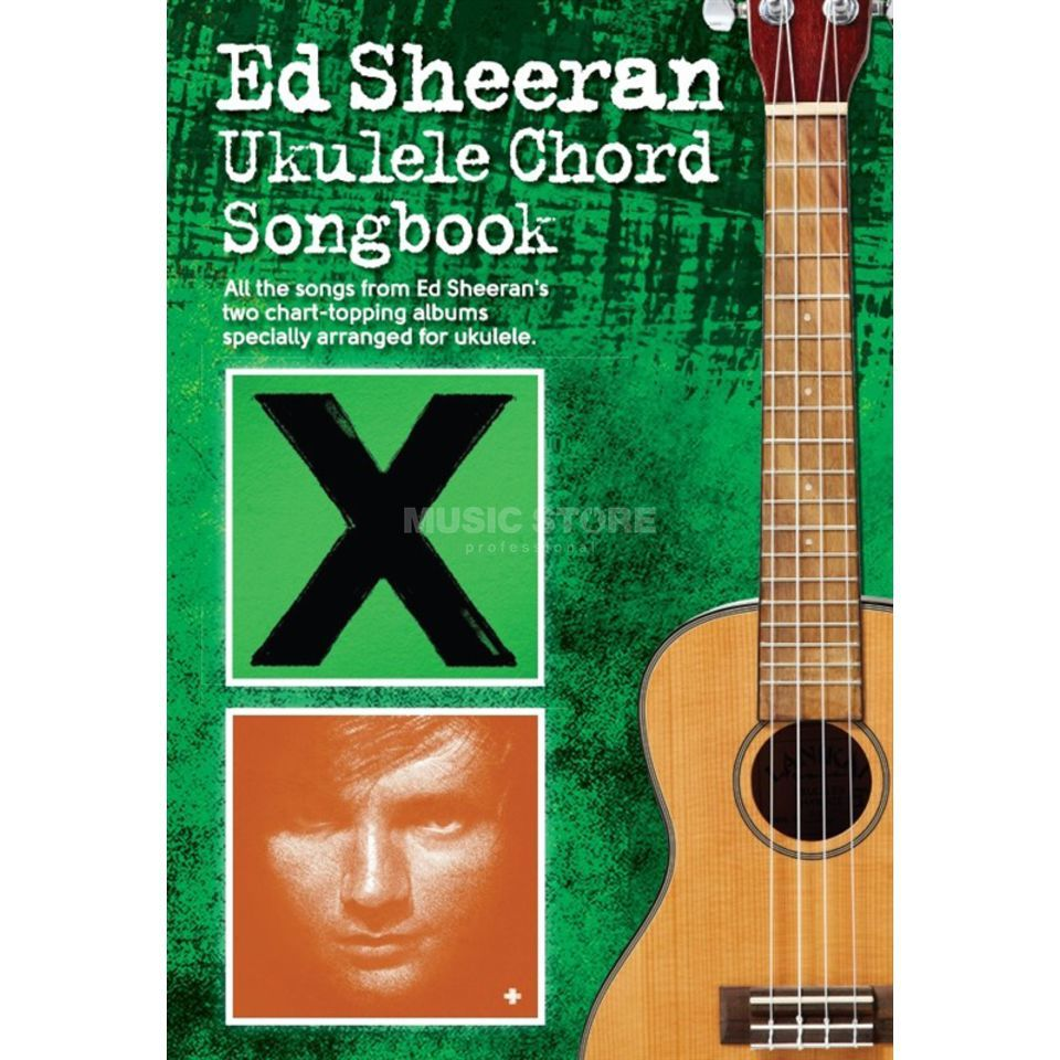 Wise Publications Ed Sheeran Ukulele Chord Songbook Produktbild