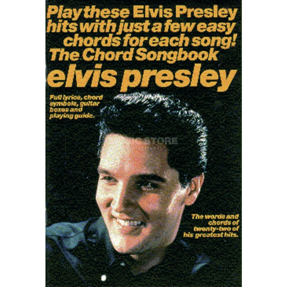 Wise Publications Elvis Presley: The Chord Songbook Produktbild