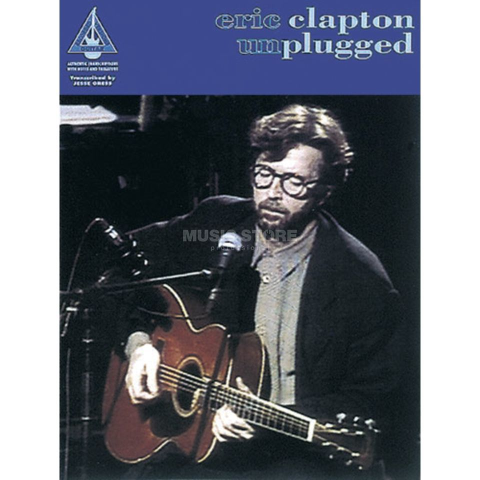 Wise Publications Eric Clapton - Unplugged TAB Produktbild
