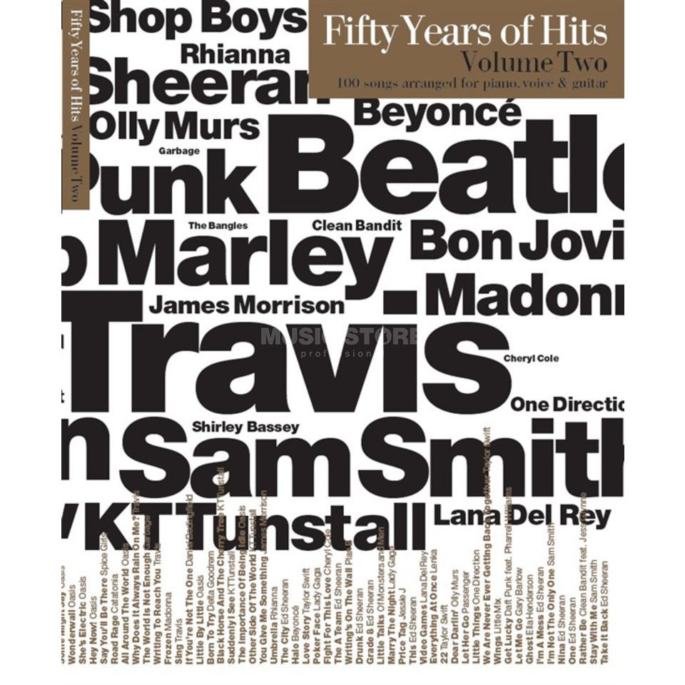 Wise Publications Fifty Years Of Hits: Volume 2 Product Image
