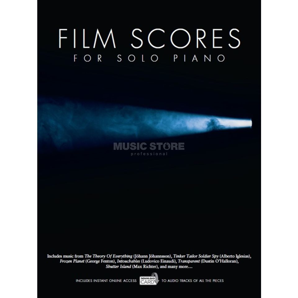 Wise Publications Film Scores For Solo Piano Buch/Download Card Produktbild