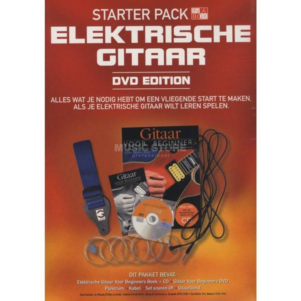 Wise Publications In A Box Starter Pack: Electric Guitar (Dutch Edition) Produktbild