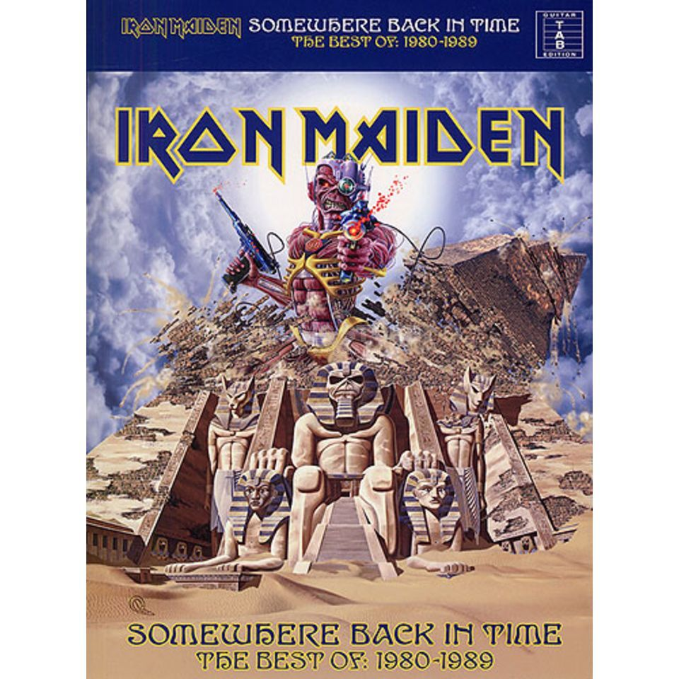 Wise Publications Iron Maiden - Somewhere Back Best of 1980 - 1989 TAB Produktbillede