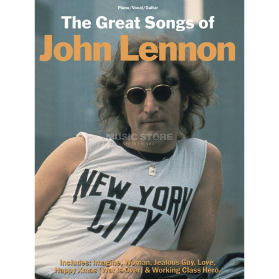 Wise Publications John Lennon: The Great Songs PVG Produktbillede