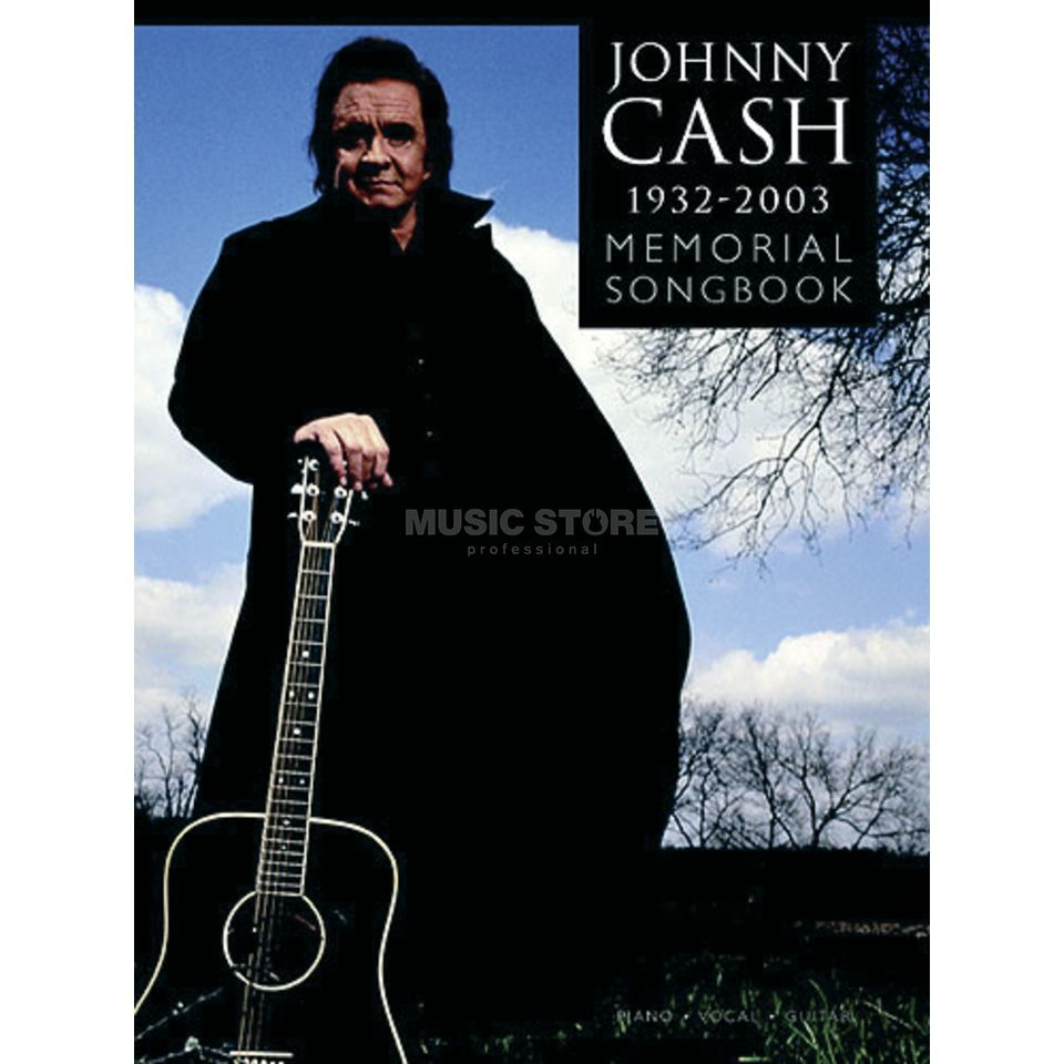 Wise Publications Johnny Cash - Memorial Album PVG Produktbild