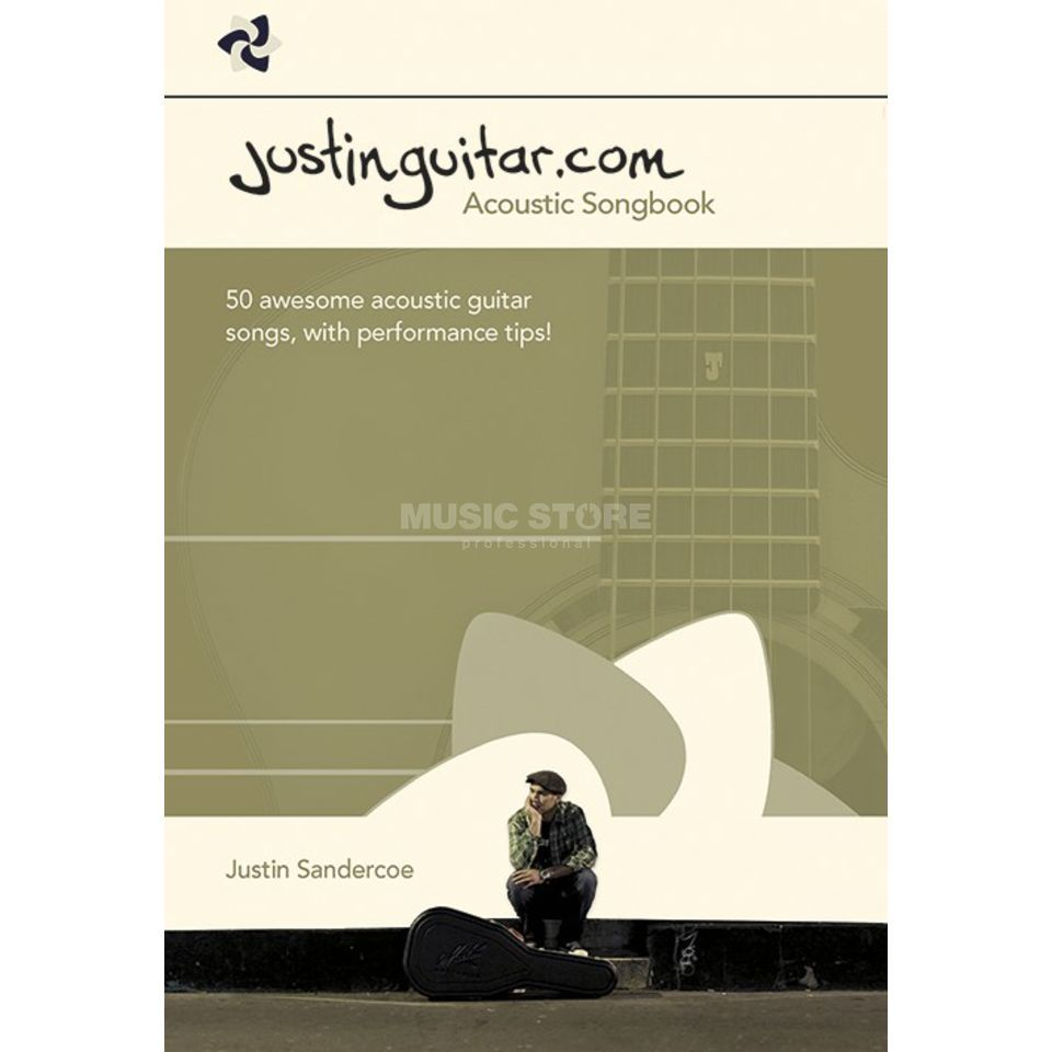 Wise Publications Justinguitar.com Acoustic Songbook Guitar Produktbillede