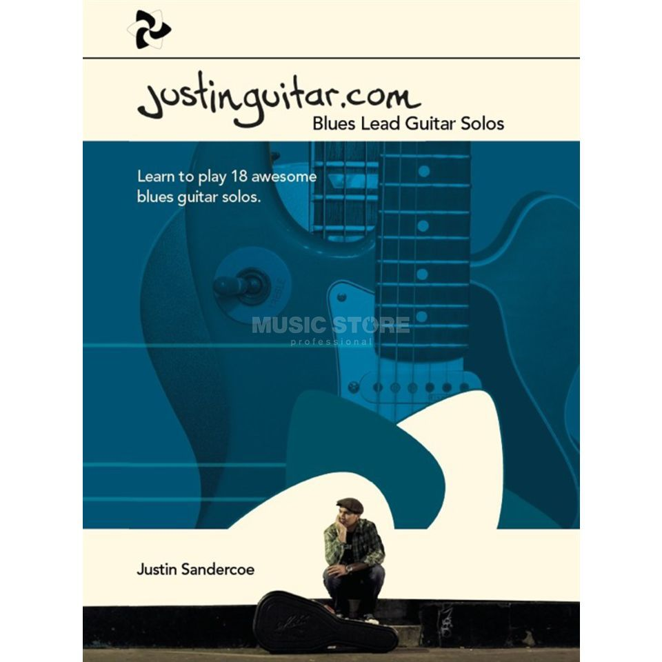 Wise Publications Justinguitar.com Blues Lead Guitar Solos Produktbillede