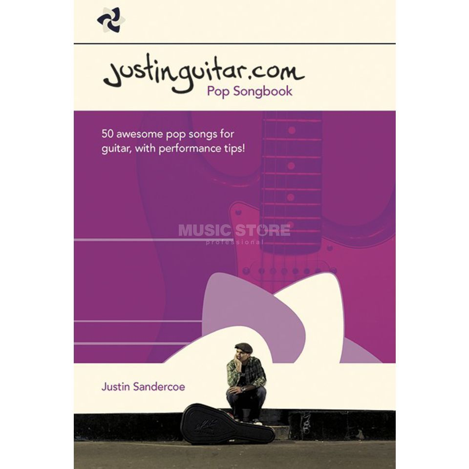 Wise Publications Justinguitar.com Pop Songbook Produktbillede