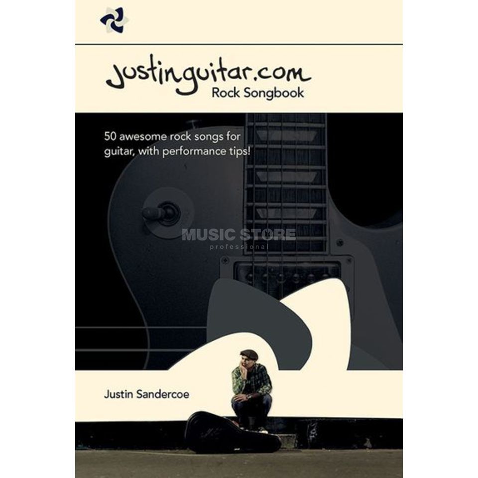 Wise Publications Justinguitar.com Rock Songbook Guitar Produktbillede