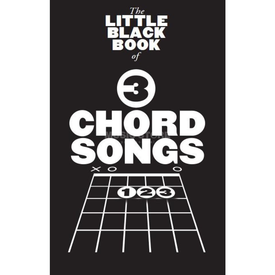 Wise Publications Little Black Book 3 Chord Song Lyrics, Chords Produktbild