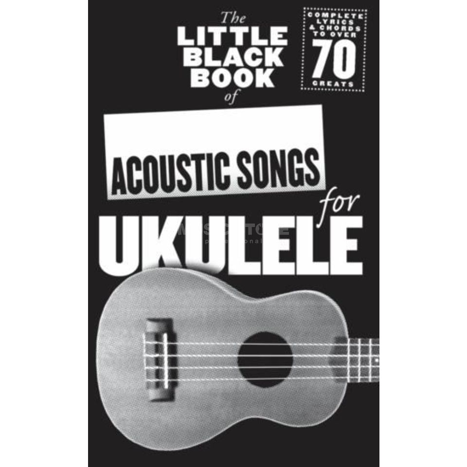 Wise Publications Little Black Book Acoustic Songs Ukulele Produktbild