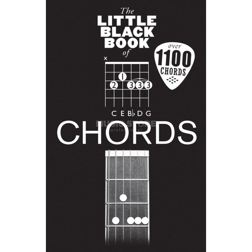 Wise Publications Little Black Book Chords Chords Produktbild