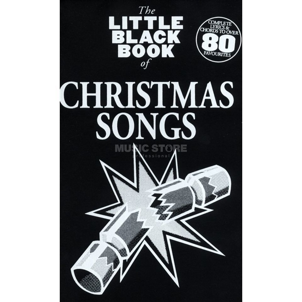 Wise Publications Little Black Book Christmas Lyrics, Chords Produktbillede