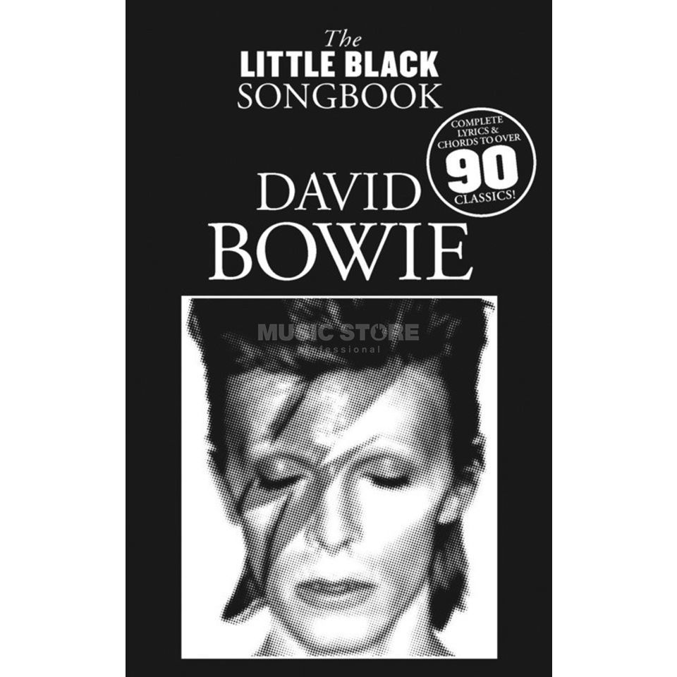 Wise Publications Little Black Book David Bowie Lyrics, Chords Produktbild