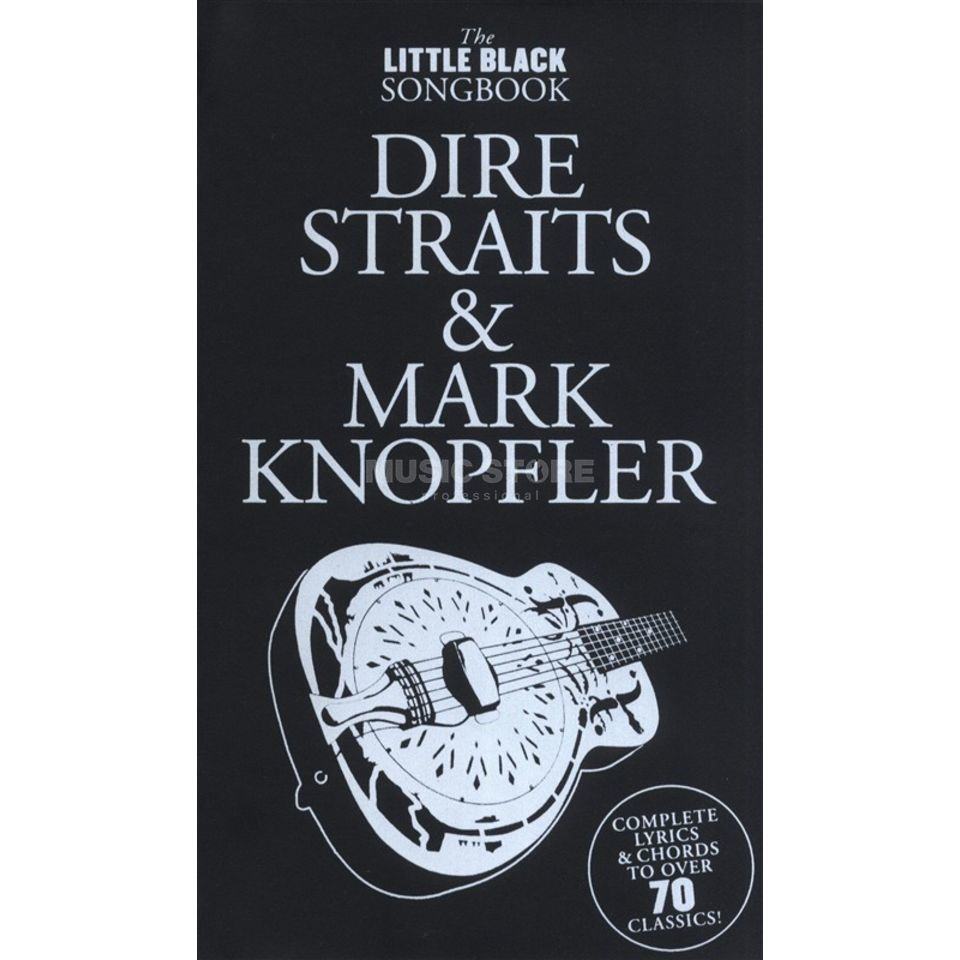 Wise Publications Little Black Book Dire Straits Mark Knopfler Lyrics, Chords Produktbild