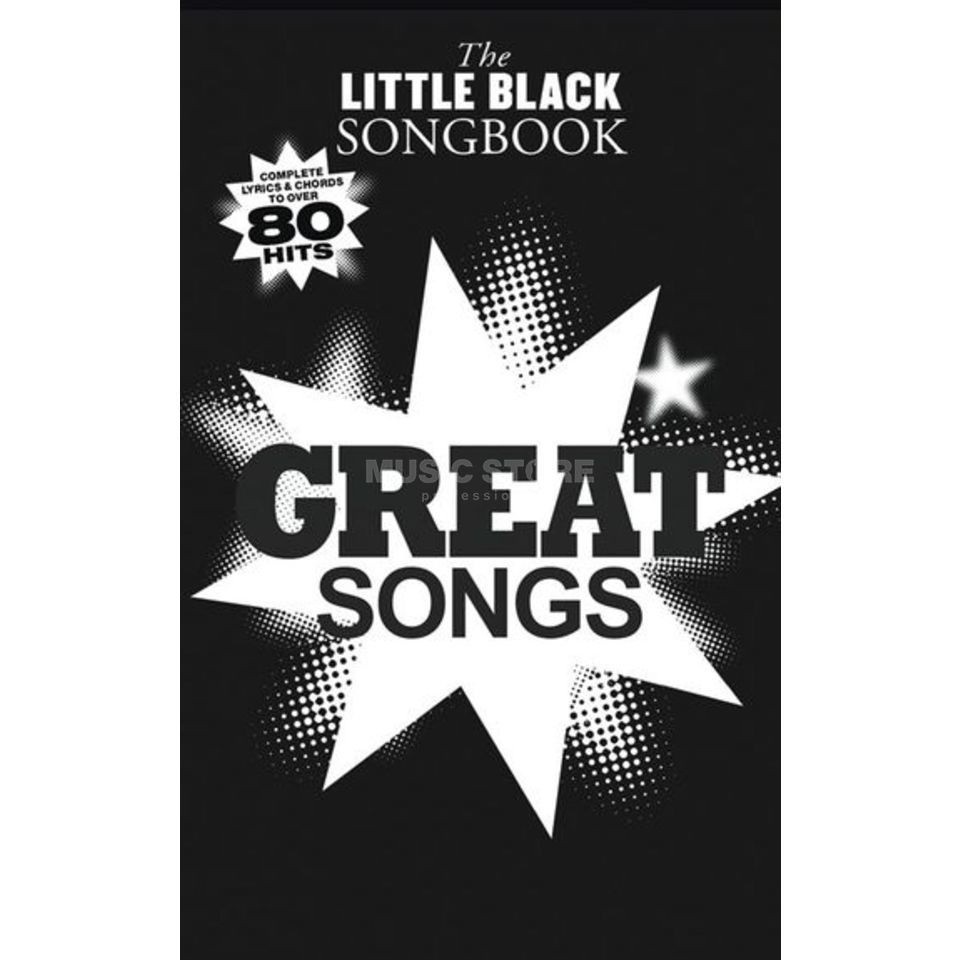 Wise Publications Little Black Book Great Songs Lyrics, Chords Produktbillede