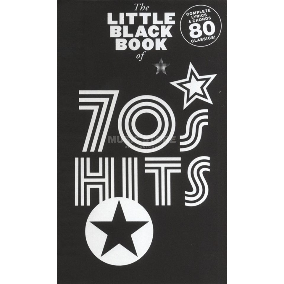 Wise Publications Little Black Book of 70s Hits Lyrics, Chords Produktbild