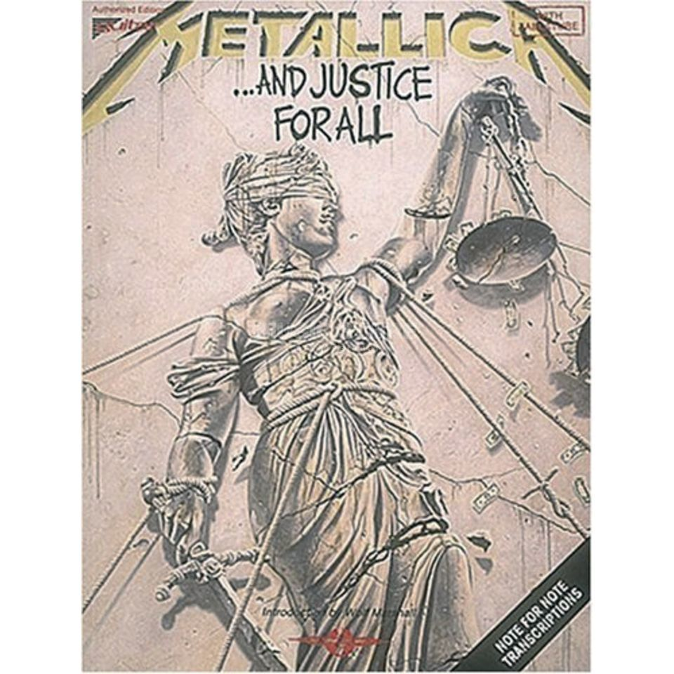 Wise Publications Metallica - ...and justice for all Tab Produktbild